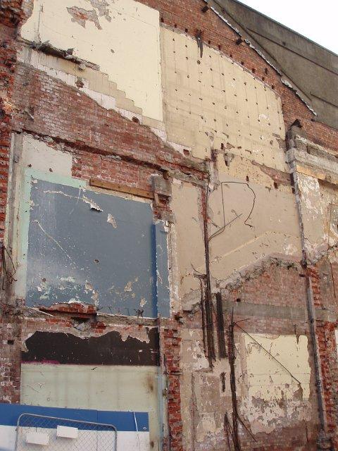demolition wall