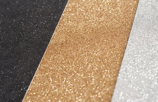 Striped Black, Gold and Silver Glitter Background - Free ...