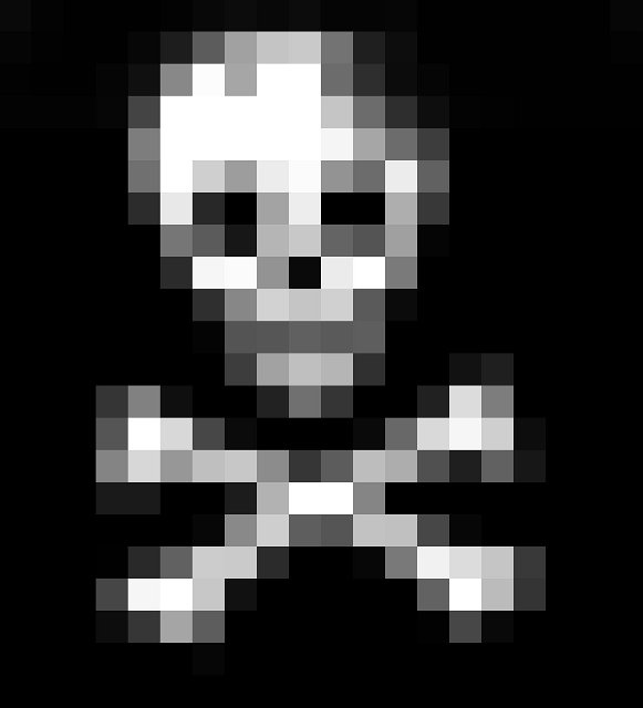 pixelated crossed bones | Free backgrounds and textures ...