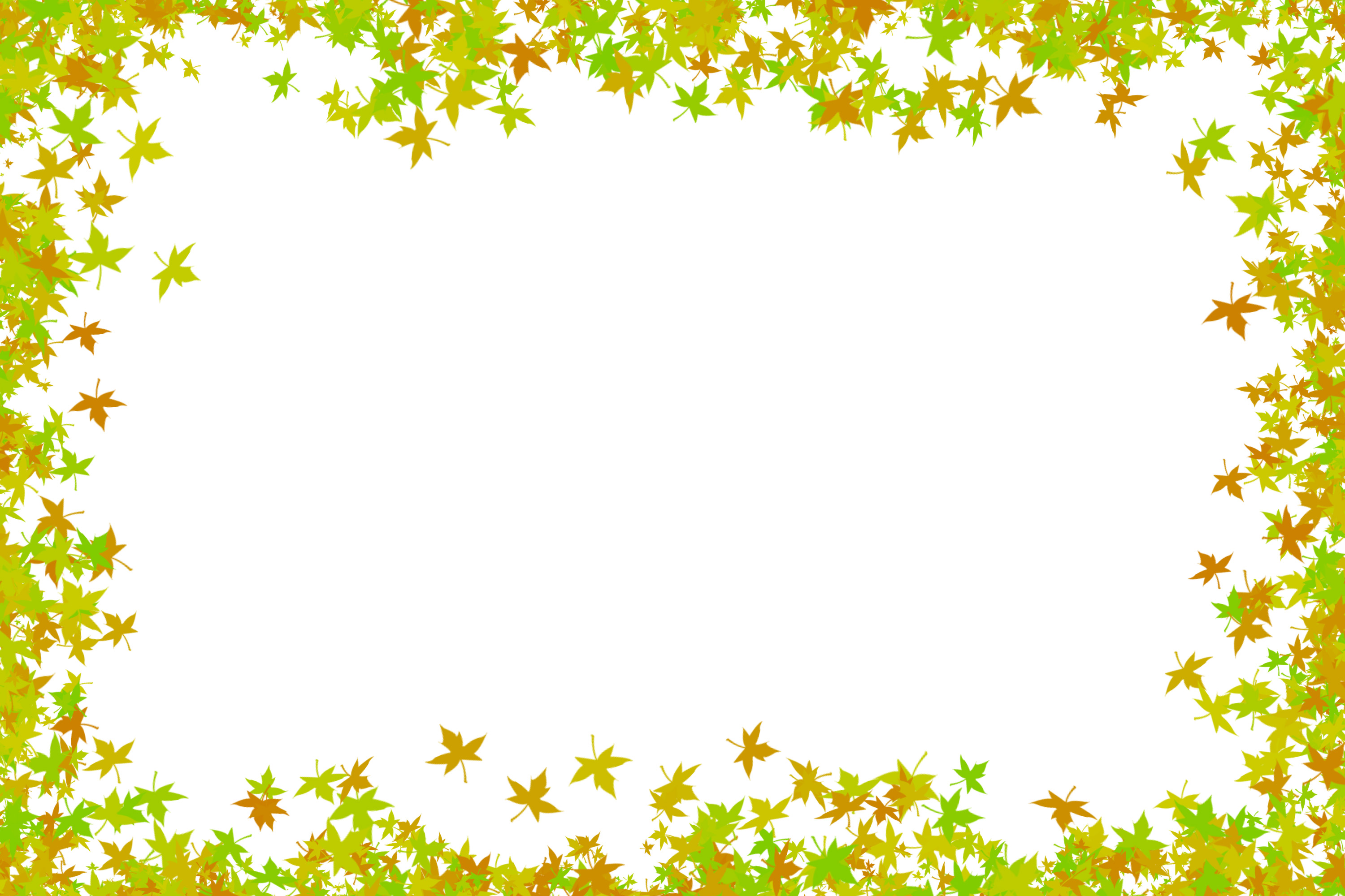 Image Collections » Graphic » maple leaves frame