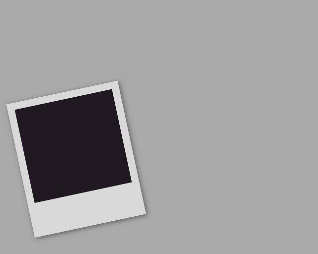 blank polaroid background - 640×512