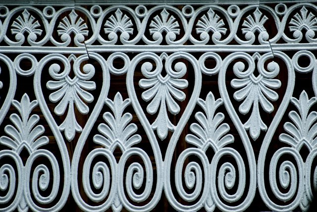 Federation Ironwork Panel Free Backgrounds And Textures