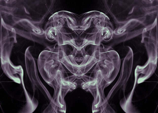 smoky alien reflection